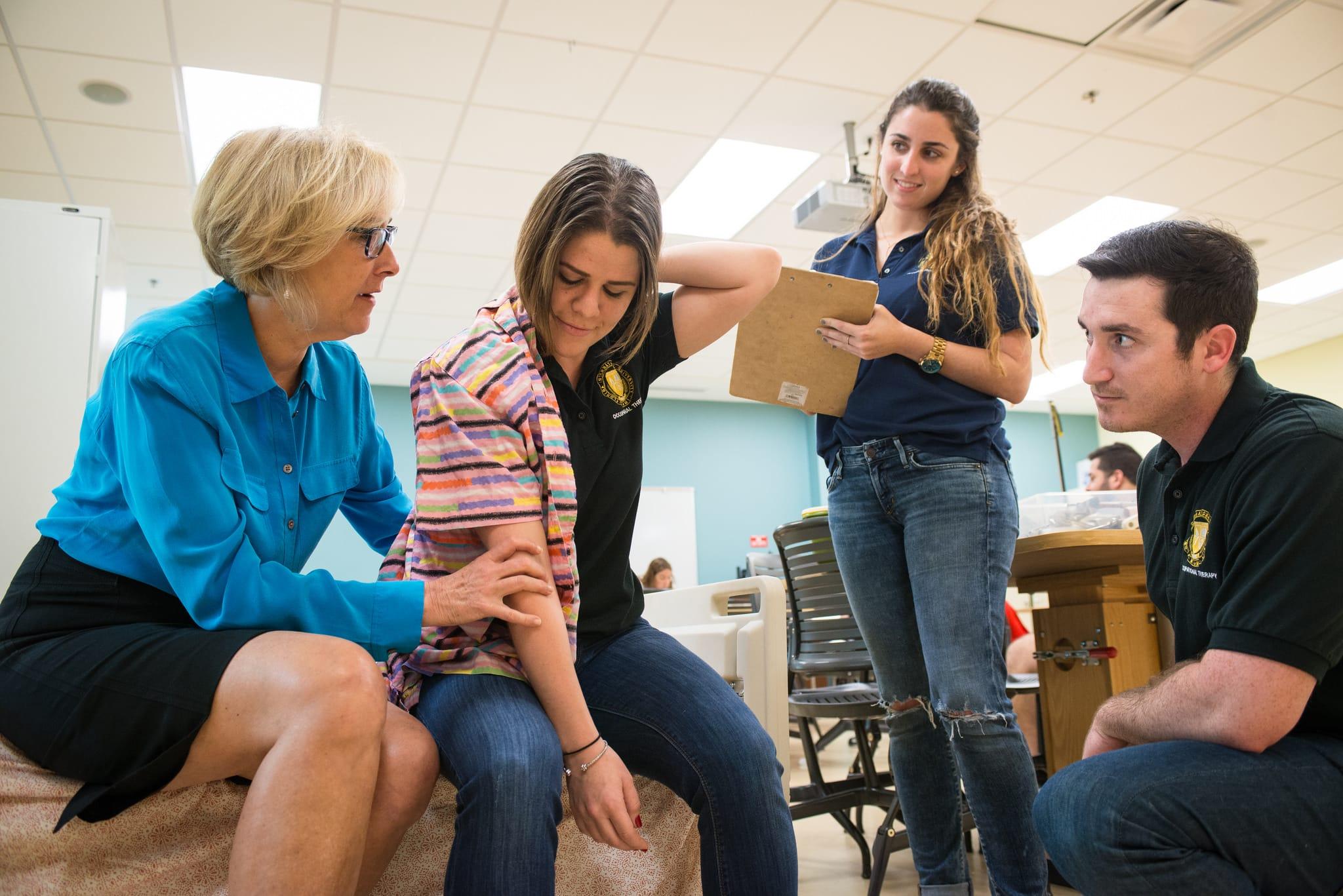 Occupational Therapy Nicole Wertheim College Of Nursing Health