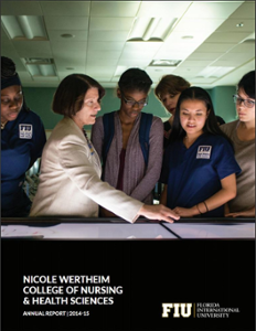 Nicole Wertheim College of Nursing and Health Sciences Annual Report 2014-2015